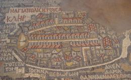 GIORDANIA Chiesa san Giorgio – mosaico di Madaba 17-25 feb 2008 (11)